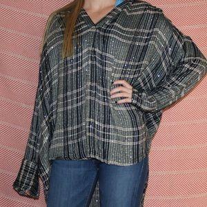 Free people oversized blouse